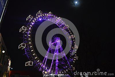 This is the Prater the amusement park in Vienna.
