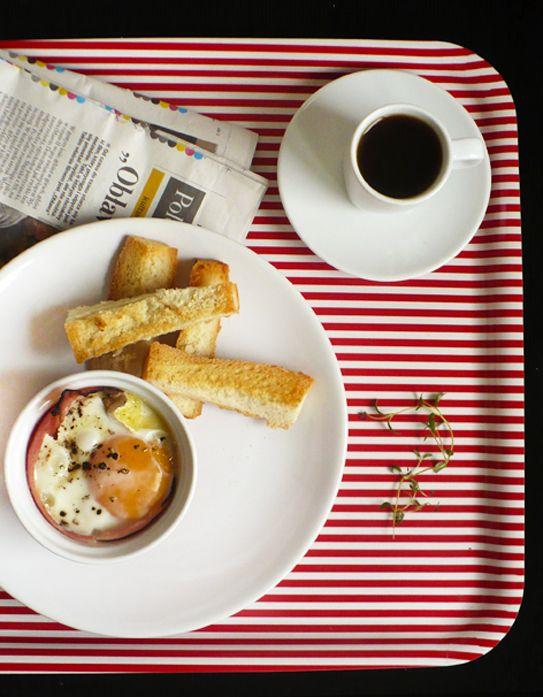 burczymiwbrzuchu: Śniadanie do łóżka #74: Jajka w kokilkach