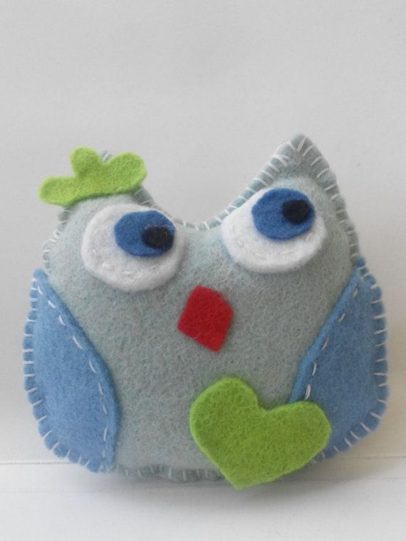 felt owl chrismas ornament от linaantoniou на Etsy