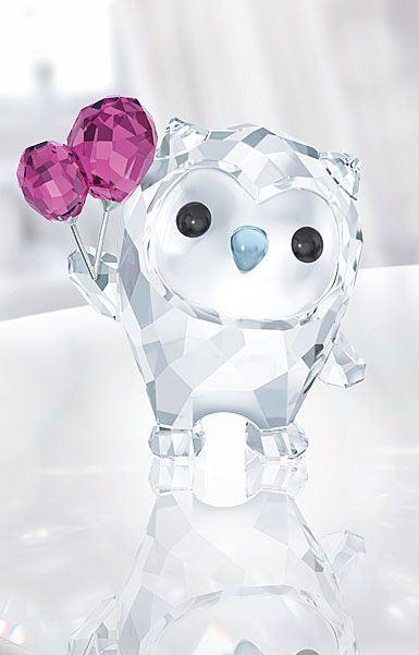 Swarovski Lovlots Hoot the Owl, Let's Celebrate
