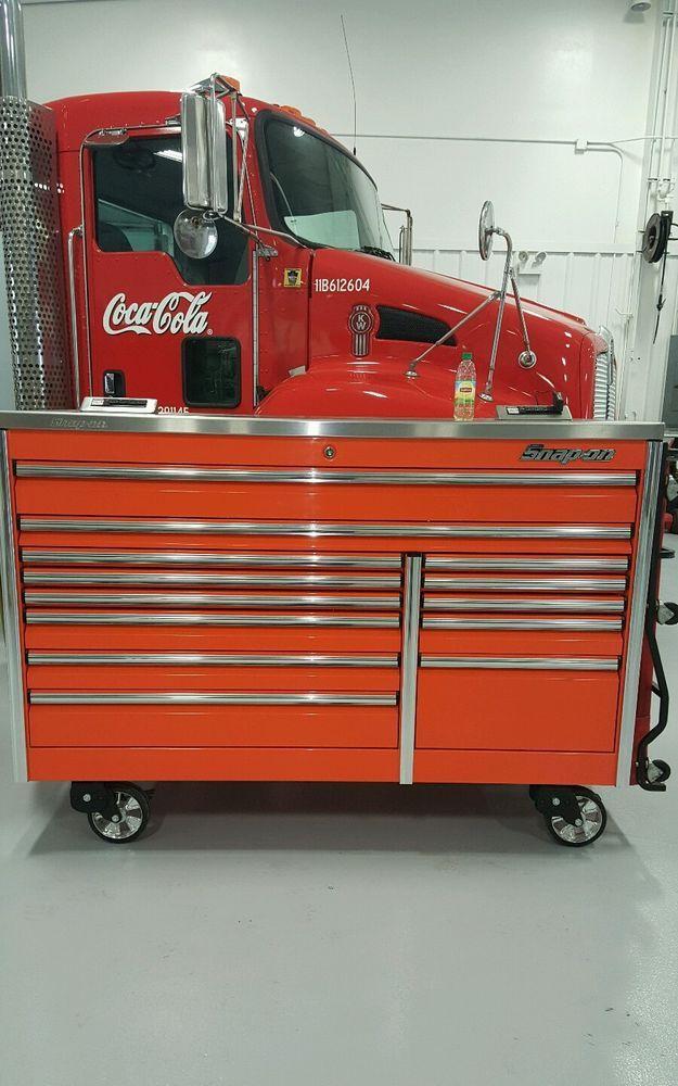 snap on 68 epiq orange tool box toolbox power top. Black Bedroom Furniture Sets. Home Design Ideas