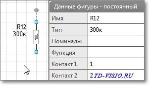 Обозначение резистора.