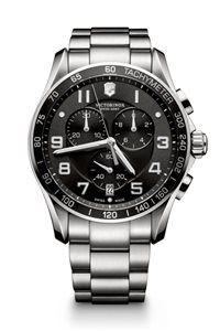 Pánske Hodinky Chrono Classic XLS 241650  Swiss-made quartzový strojček ETA G10.211, Presnosť merania chronografu až 1/10 sekundy, tachymeter priemer: ø 45 mm