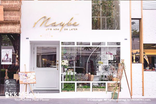 Maybe Flower & Cafe