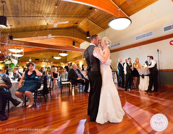 The spacious Coquitlam room at The Vancouver Golf Club. Photo by D'Soleil Photography, as seen on BRIDE.Canada.