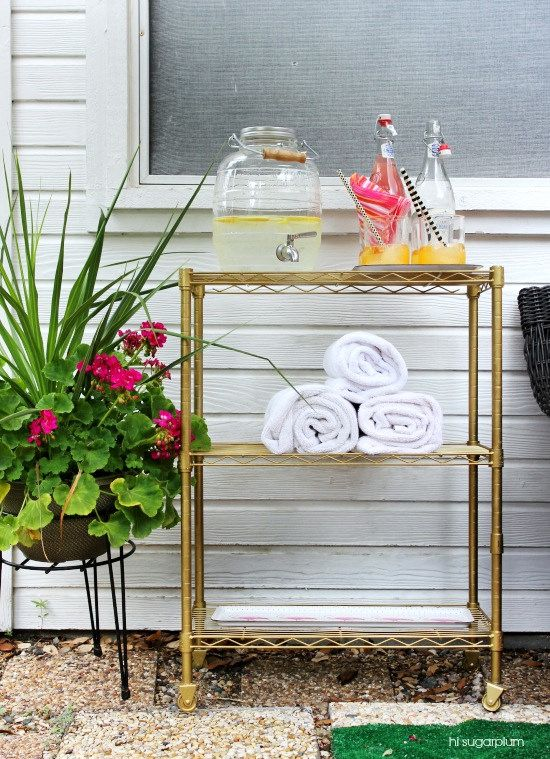 {DIY} Cart For Apartment Bathroom