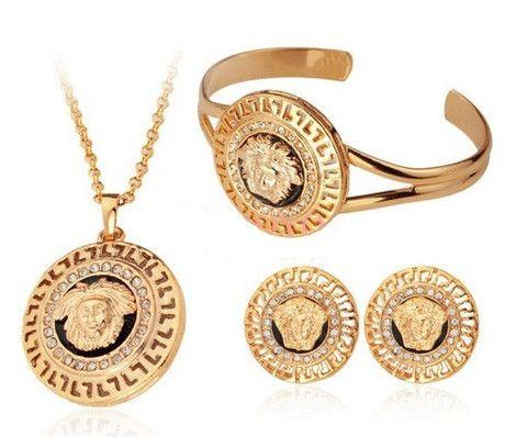 Vintage Versace Jewelry for Men | Vintage Versace Myth Diamond Medusa Bracelet