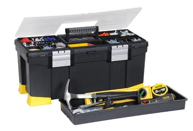 Skrzynka narzędziowa z organizerem pozwoli utrzymać porządek w warsztacie