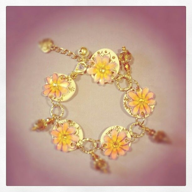 Shrink plastic bracelet