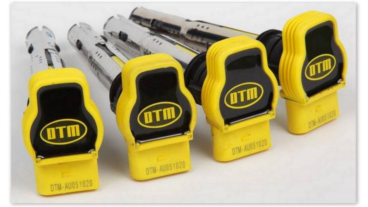DTM GENESIS AUDI 2,0 TFSI YELLOW POWER COILS MADE TO RUN #TUNING