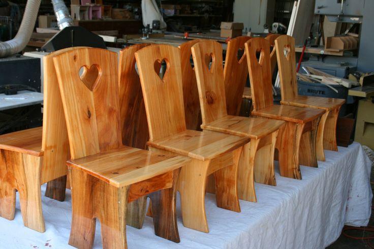 Davis Waldorf School Kindergarten Chairs