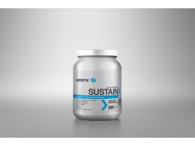 "Sustain Amino Performance by Genetic Supplements. Voted Men's Health Magazine best Pre-Workout product........ ""With no stimulants, Sustain is proven to buffer lactic acid, boost blood flow and improve body composition and performance"""