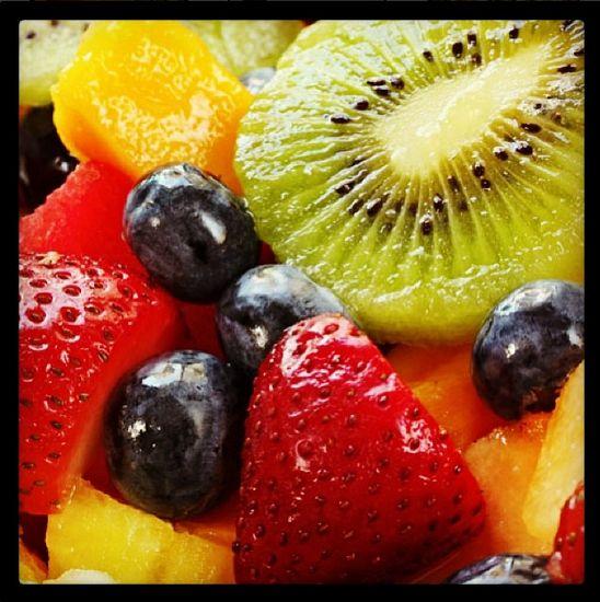 We love toppings! #fruit #froyo #soyonz