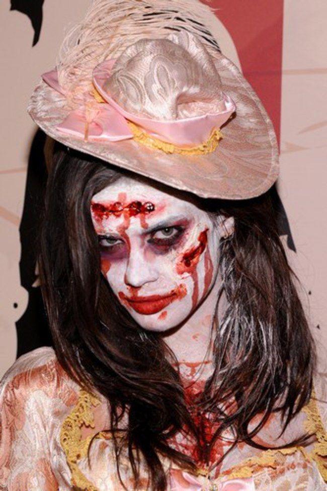Geniales Kostüm: Die Zombie Braut! Halloween Make-up: 5 DIY-Beauty-Hacks für den Partyabend