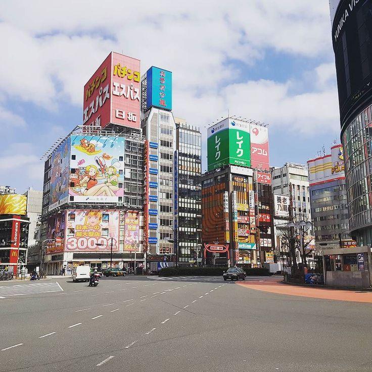 Square in Shinjuku