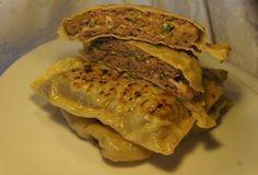 Китайские лепешки с мясом-безумно вкусные и сочные!