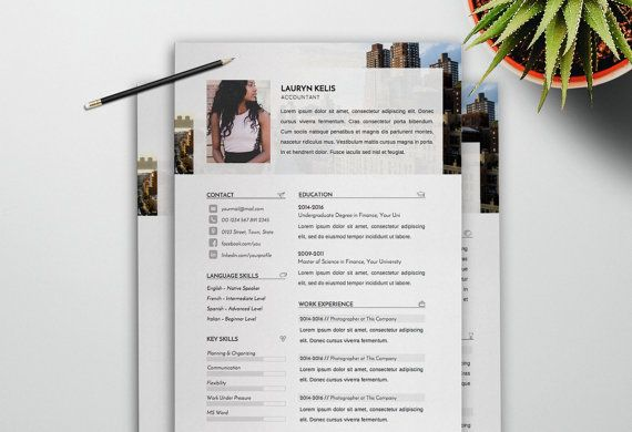 Resume Template and Cover Letter Template  by LambrosiaShop