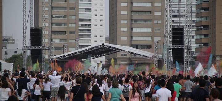 Festa Holi - Parque Vila Lobos/SP - 27/09/2013 - Fotos de Vitor e Lucas #holi