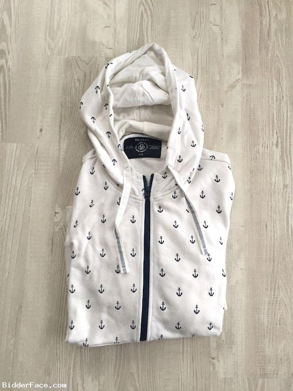 Gant Naval Academy New Heaven Hoodie  American Sportswear 100% Cotton
