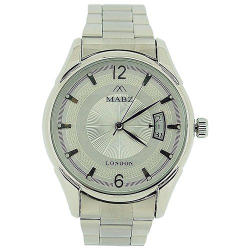 Mab London Automatic Gents All Stainless Steel Silver Dial Calendar/Date Watch