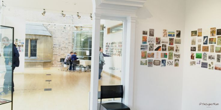 Artists create affordable art on postcards http://bgn.bz/wywh at @WoodendCreative #WishYouWereHere #Scarborough