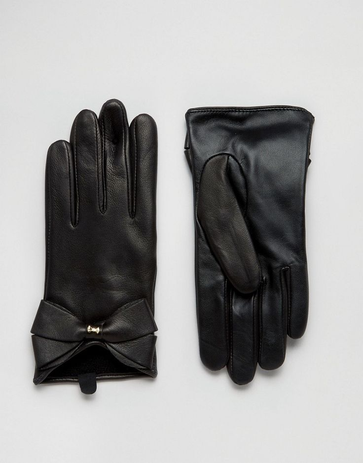 Ted Baker Large Leather Gloves