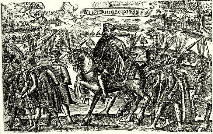 Hajducy Stefana Bocskay, 1605 r.  (Soldiers of the Prince of Transylvania, https://pl.wikipedia.org/wiki/Stefan_Bocskay)