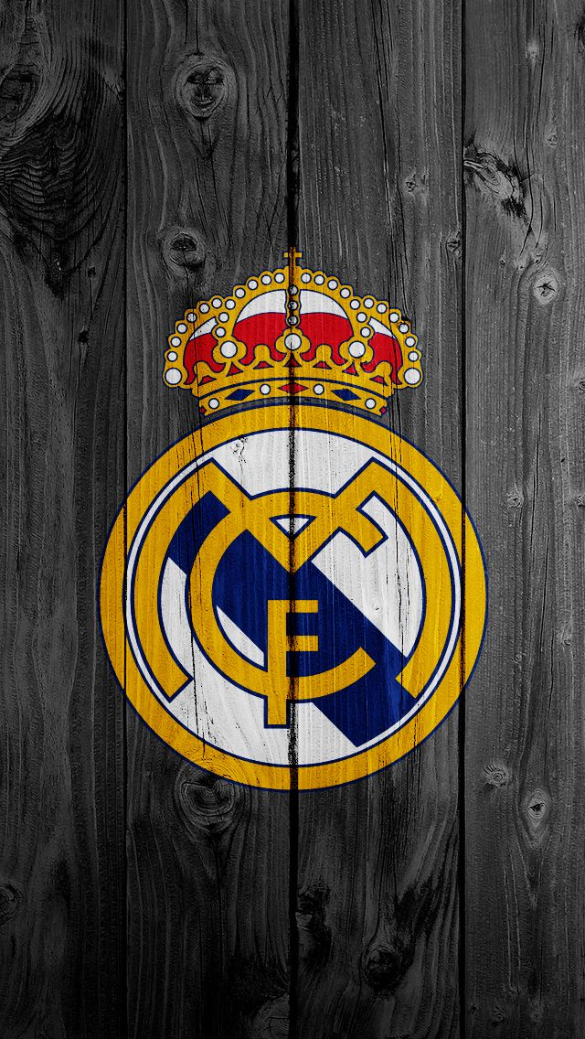 Real Madrid FC Logo iPhone 6 Wallpapers HD  is a fantastic HD wallpaper for your…