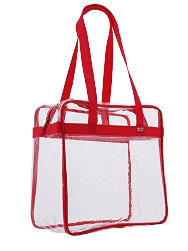 New Trending Tote Bags: Ensign Peak Clear Tote Bag NFL Stadium Approved - 12 X 12 X 6 - Shoulder straps and zippered top. (Red). Ensign Peak Clear Tote Bag NFL Stadium Approved – 12″ X 12″ X 6″ – Shoulder straps and zippered top. (Red)  Special Offer: $8.97  133 Reviews Safety is top priority these days. Ensign Peak's Clear NFL approved tote bag will make taking your gear into...