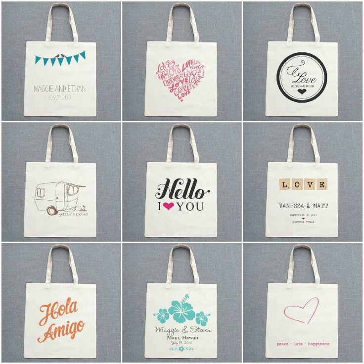 Detalle para invitados: bolsas personalizadas - AtodoConfetti