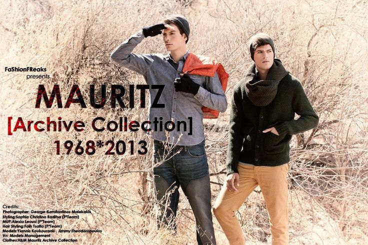FaShionFReaks presents Mauritz [Archive Collection] 1965*2013 Credits:   Photographer: George-Kwnstantinos Malekakis  Styling: Sophia-Christina Raditsa (F*Team) Hair Styling: Faih Tsalta (F*Team) MUA: Alexia Leousi (F*Team) Models: Yiannis Koukourakis, Jimmy Theodoropoulos ( VN Models Management) Clothes: H&M - Mauritz [ Archive Collection] 1968*2013 Make up products by Shojo