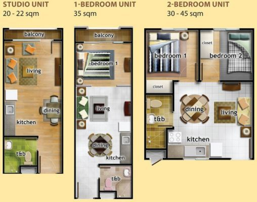 15 best 22 sqm Condo Unit images on Pinterest Condos Towers and