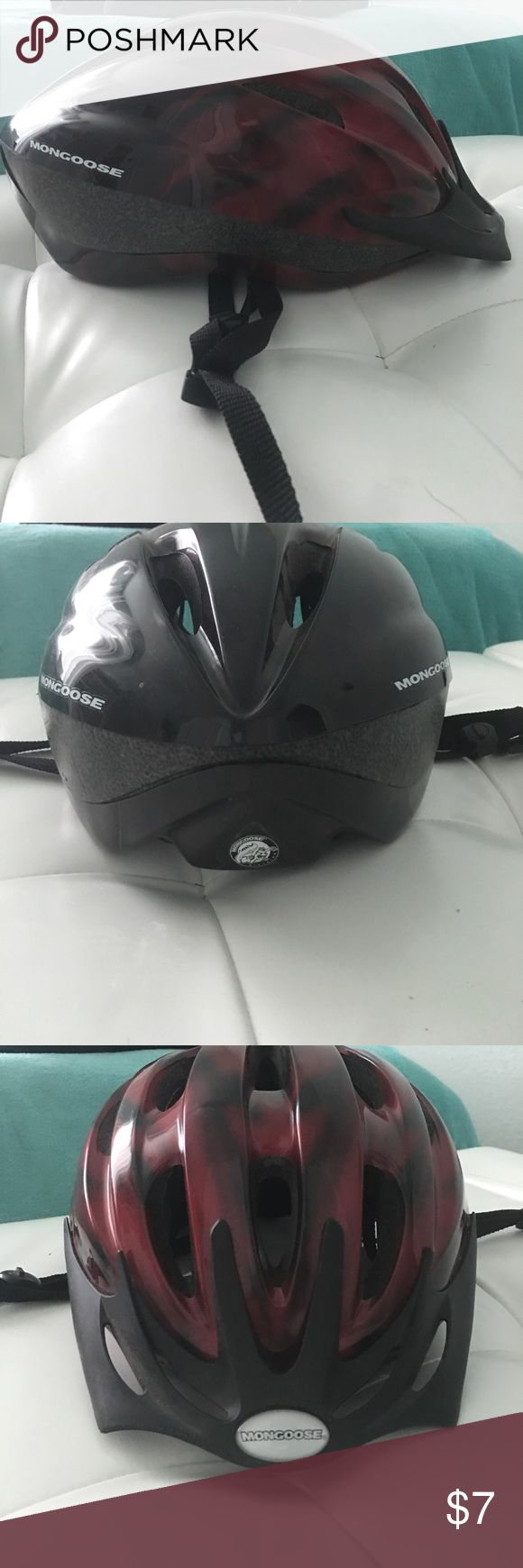 Mongoose Bike Helmet This helmet in great condition! Only used a couple of times! Youth size! Age range from 7-12 years old! mongoose Other
