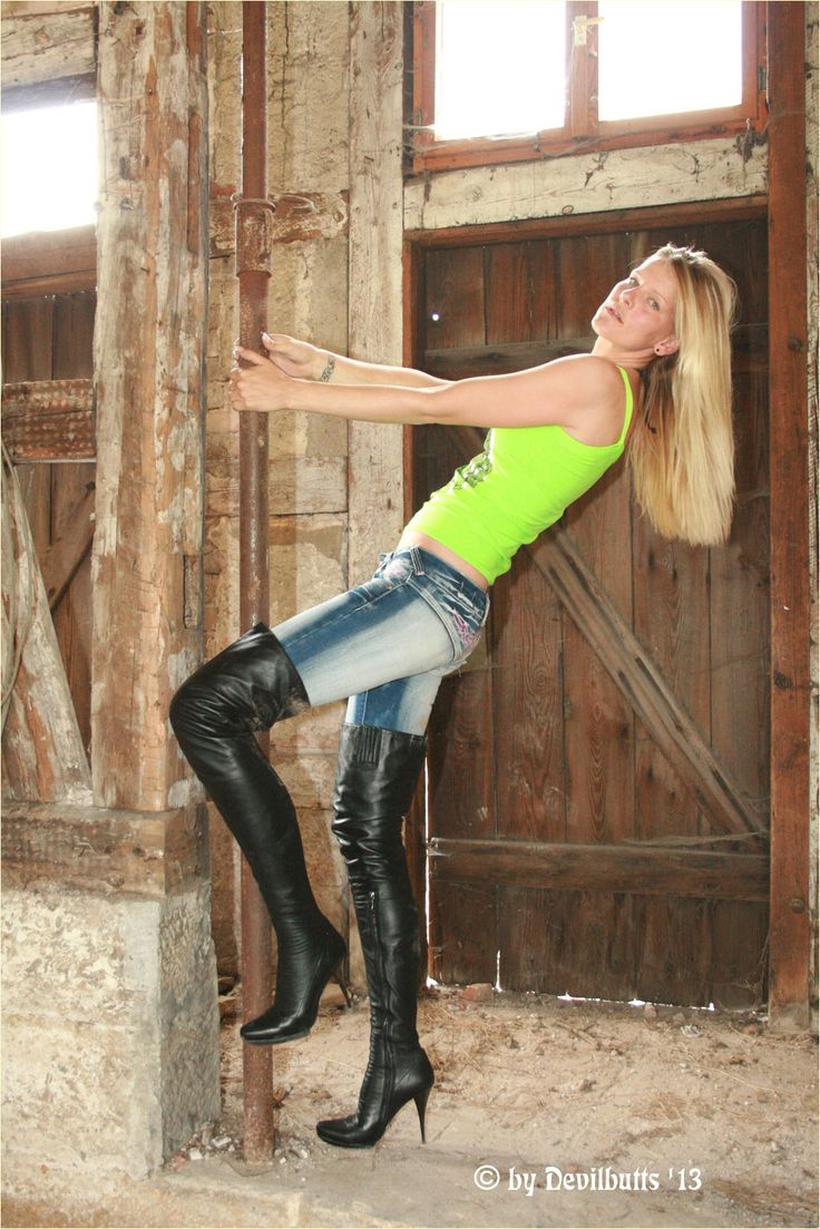 AROLLO Thigh High Boots Julie2 and Devilbutts - The ...