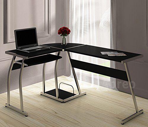 Abreo L Shape Corner Computer Desk Table PC Workstation Home Office Furniture (L Shape Black) No description (Barcode EAN = 0700461603092). http://www.comparestoreprices.co.uk/december-2016-3/abreo-l-shape-corner-computer-desk-table-pc-workstation-home-office-furniture-l-shape-black-.asp