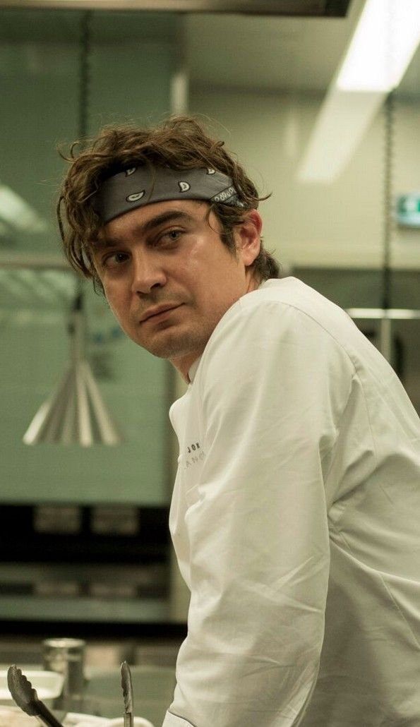 "Riccardo Scamarcio in Burnt, out in theaters October 30th. Starring Bradley Cooper, it""s a film about the love of food,  the love between two people, and the power of second chances."