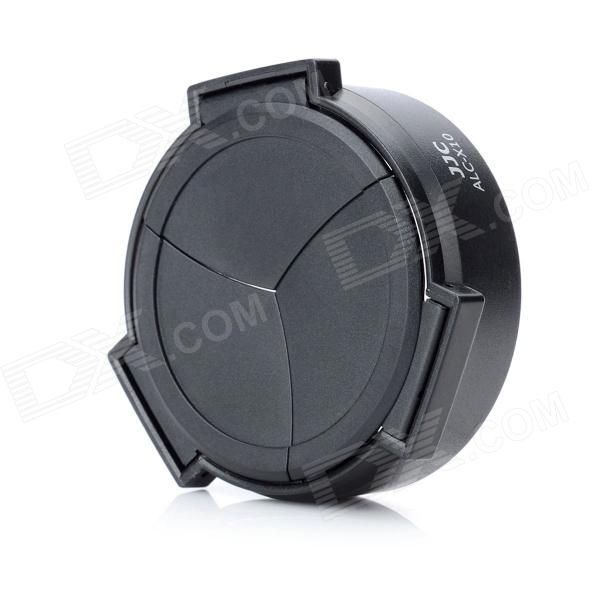Brand: JJC - Model: ALC-X10 - Color: Black - Material: Plastic - Diameter: 5cm - Compatible camera model: Fuji X10 camera - Opens and closes automatically as lens stretch out and draw back, protects your camera lens or filter from dust, damage, and scratches - Package includes: - 1 x Lens cap http://j.mp/1lkoRww