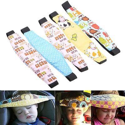 Popular De La Silla Auto Sleep PNA ayuda bebé niños Soporte De Cabeza Holder Cinturón Ca Ed