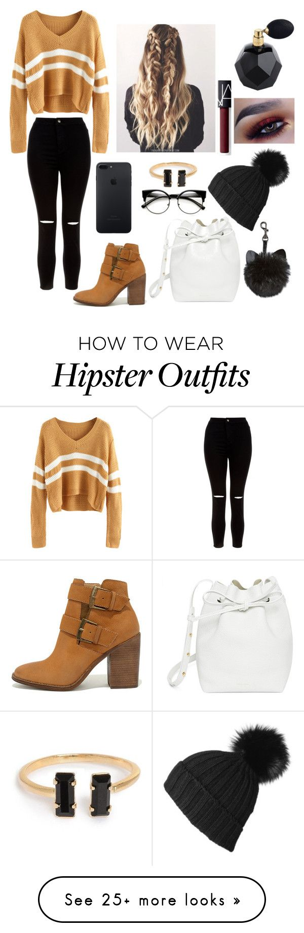 """""""Driving"""" by anjolea on Polyvore featuring New Look, Steve Madden, Mansur Gavriel, Black and NARS Cosmetics"""