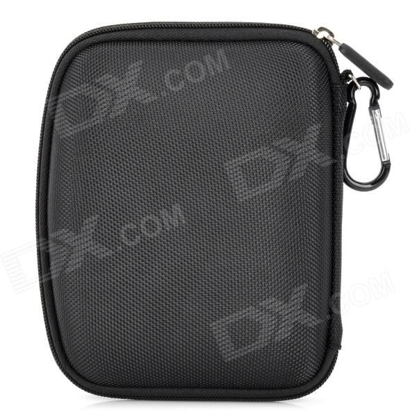 """Quantity: 1 piece(s); Color: Black; Material: Nylon; Other Features: Water resistant, lightweight and fashionable; Perfect to protect and convenient to carry the 5"""" GPS; Packing List: 1 x GPS Bag; http://j.mp/VIJ2rx"""
