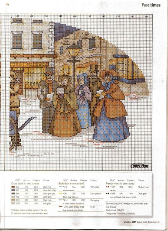 Gallery.ru / Фото #30 - Cross Stitch Collection 175 октябрь 2009 - tymannost