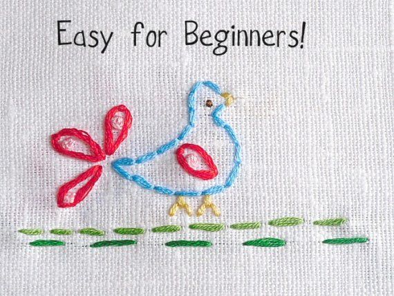 Scandinavian Birds I Hand Embroidery Patterns in by thesplitstitch, $4.00