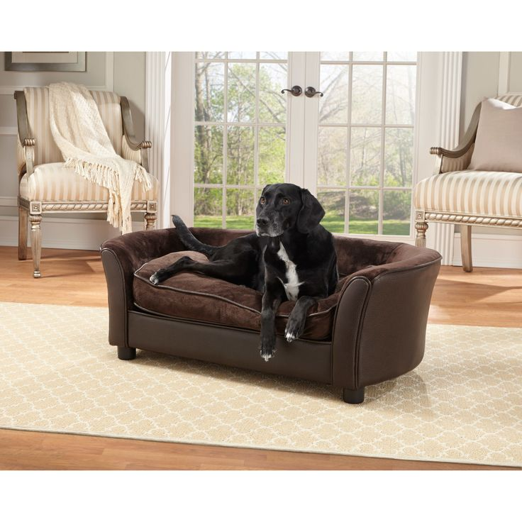 Lb Leather Dog Bed