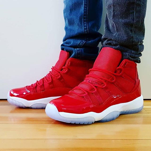 30e44167a2a3 Go check out my Air Jordan 11 Retro Win Like 96 on feet channel link ...