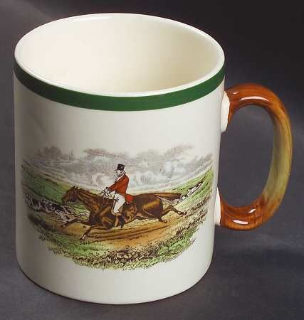 Mug in the Herring Hunt-The Hunt pattern by Spode China