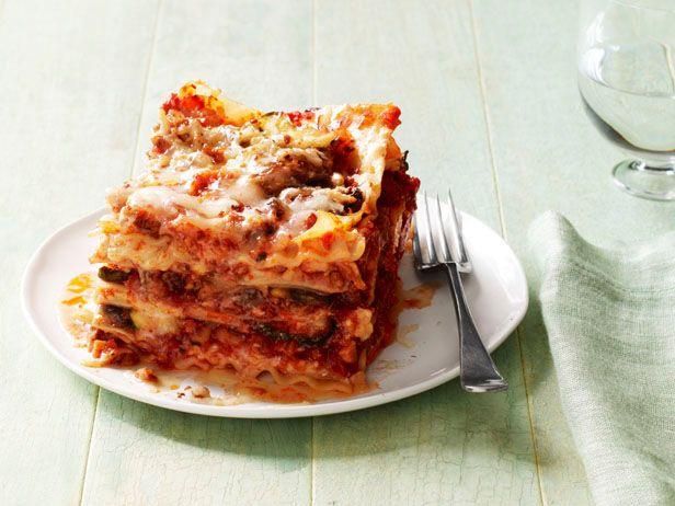 All-Star Lasagna Recipes #FNMag: Food Network, Foodnetwork Com, Italian Sausages, Homemade Tomatoes Sauces, All Stars Lasagna, Lasagna Recipes, Zucchini Lasagna, Sausages Lasagna, Anne Burrel