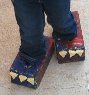 Dinosaur feet...rawr!