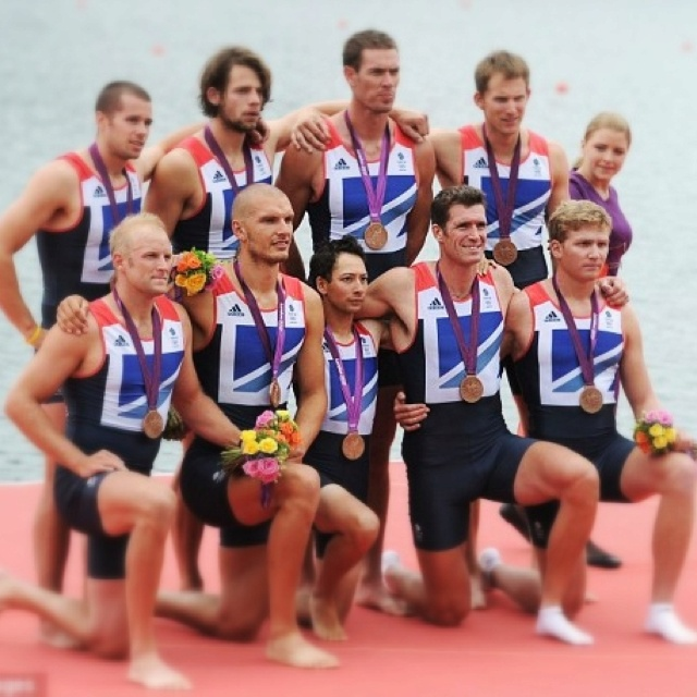 Alex Partridge, James Foad, Tom Ransley, Ric Egington, Moe Sbihi, Greg Searle, Matt Langridge, Constantine Louloudis, Phelan Hill - Bronze, Men's Eight Rowing