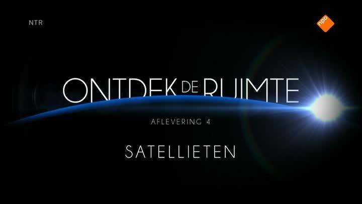 Ontdek de Ruimte - met André Kuipers. De eerste satelliet werd in 1957 gelanceerd. Nu draaien meer dan duizend satellieten rond de aarde. André Kuipers laat zien wat satellieten allemaal kunnen en waarom ze zo belangrijk zijn voor ons op aarde. We zien hoe je met navigatiesatellieten zelfs bedreigde diersoorten kunt volgen.