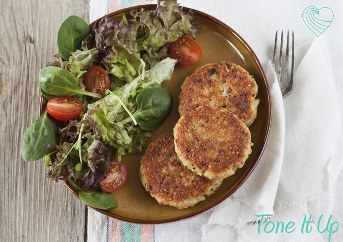 Veggie Quinoa Protein Patties
